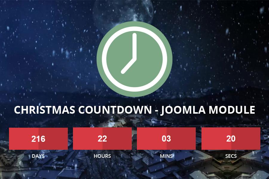 Christmas Countdown Joomla Module