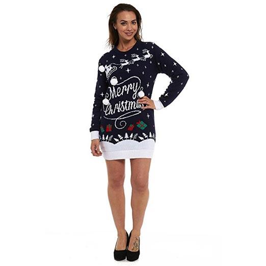 Christmas Dress Jumper