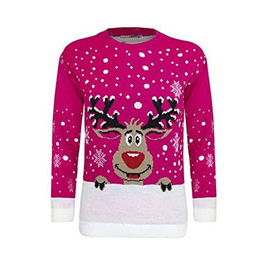 Girls Reindeer Jumper