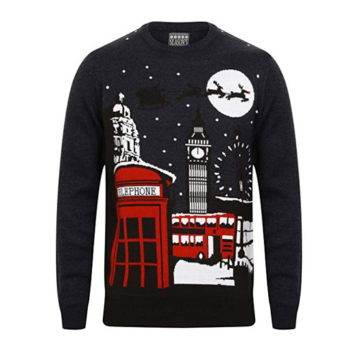 London Christmas Jumper